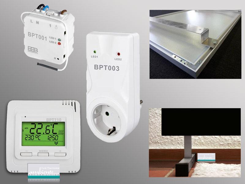 Funk-Thermostat für Infrarotheizungen