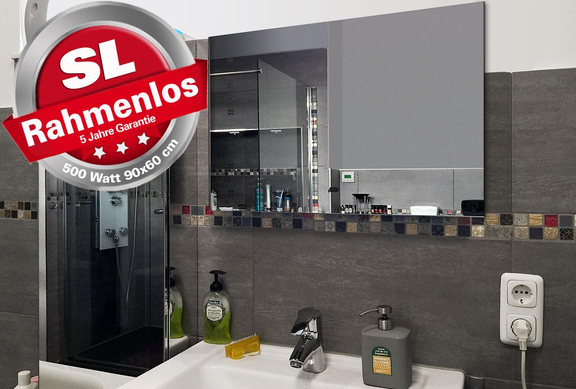 infrarot spiegelheizungen - funktionelles design - spiegelheizungen.de, Badezimmer ideen
