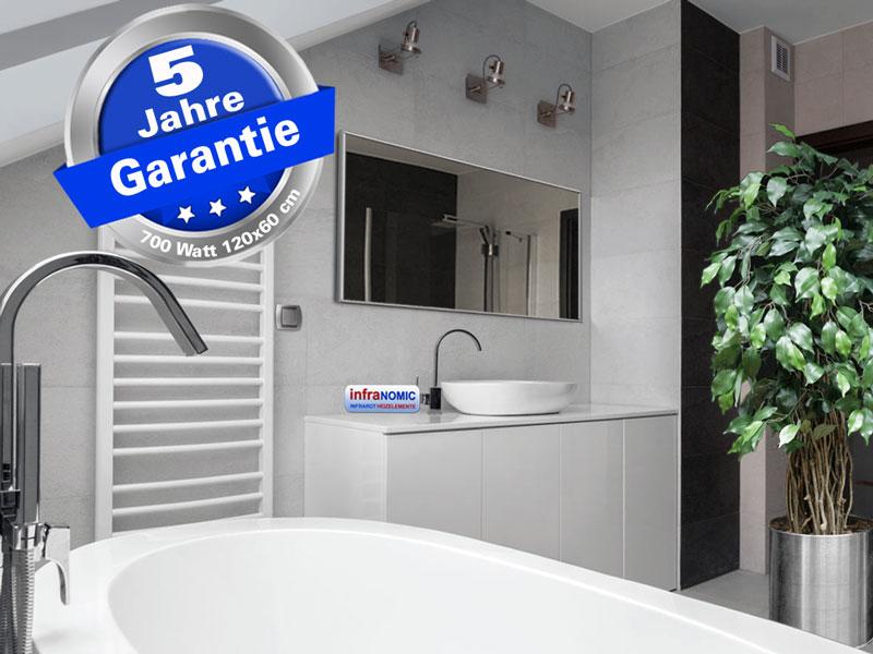 Spiegelheizung mit Alurahmen - Für Badezimmer entwickelt
